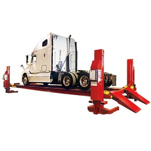 Rotary Heavy Duty Four-Post Lift